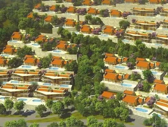 Das Gebiet Armutalan Von Marmaris 52000M2 Grundstück Zum Verkauf