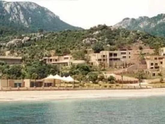 Marmaris,Urlaub, Dorf, Gebaut Auf Einem Grundstück Von 100000M2 Te Hubschrauberlandeplatz Zur Verfügung