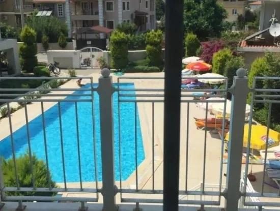 Luxus 3 Zimmer 1 Wohnzimmer Duplex-Wohnung Mit Pool Marmaris Icmeler