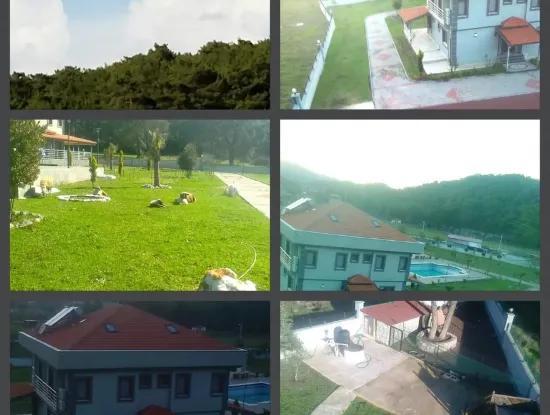 Gebaut Auf Einem Grundstück Von 7000M2 In Marmaris, 8 Zimmer, Haus Ranch Pool