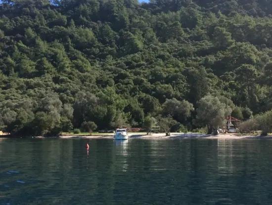Das Land Zum Verkauf Von Marmaris In Der Nähe Des Meeres Grundstück Hotels, Marina, Yacht Club Land 4000 M2