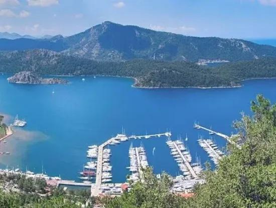 Marmaris Orhaniye Village By The Sea In Area Of 6000 M2 For Sale
