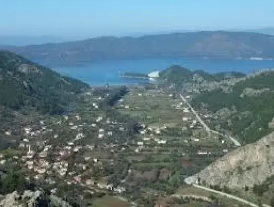 2300M2 Villa In Marmaris Turgut Village 4 Plot For Sale District Zoned