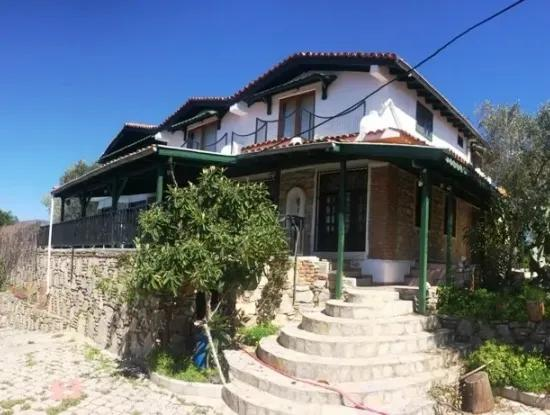 Stone Villa With Swimming Pool, 8 Rooms, 740M2 Plot For Sale In Gökova Region