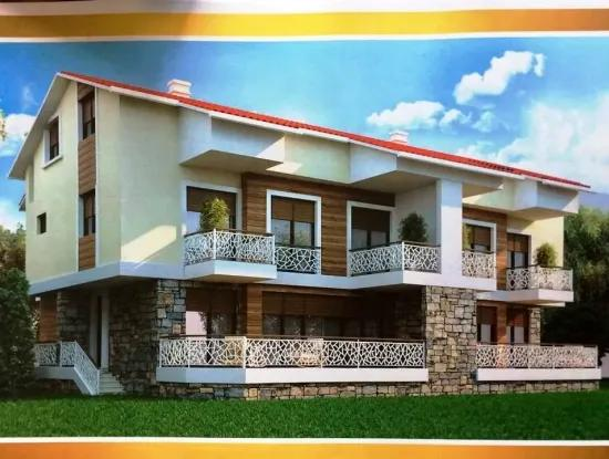 3 Rooms 1 Living Room Apartment For Sale With Swimming Pool Marmaris Icmeler Position
