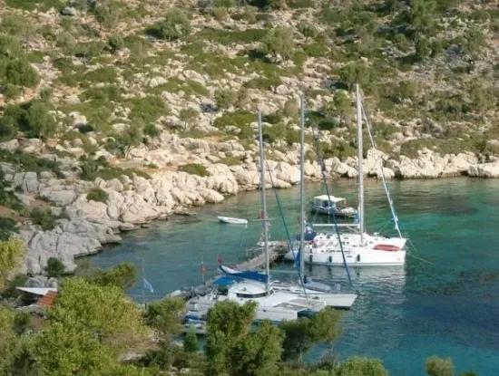 10000M2 Land For Sale In Bozukkale Bay Restaurant Yacht Club