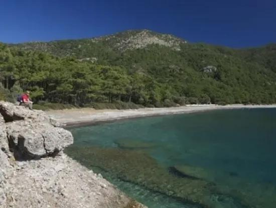 Built On A Plot Of 100000M2 For Sale In 60 Km From The Center Of Datca Holiday Village