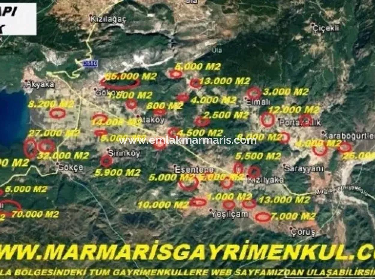 Çıtlık Mevkiinde Doğa Manzaralı 600 M2 İmarlı Satılık Arsa