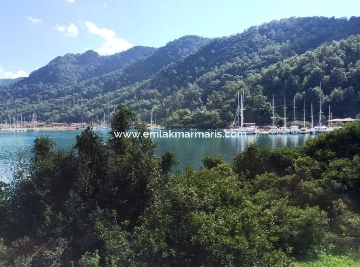 Marmaris  Orhaniye Mahallesinde 10000M2 Denize Sıfır Satılık Arsa
