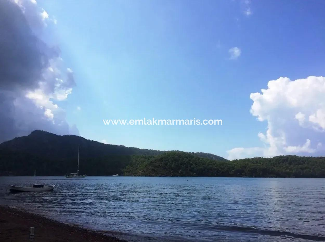 Marmaris Orhaniye Mahallesinde  Denize 100 Metre Mesafede 586 M2 Satılık Arsa