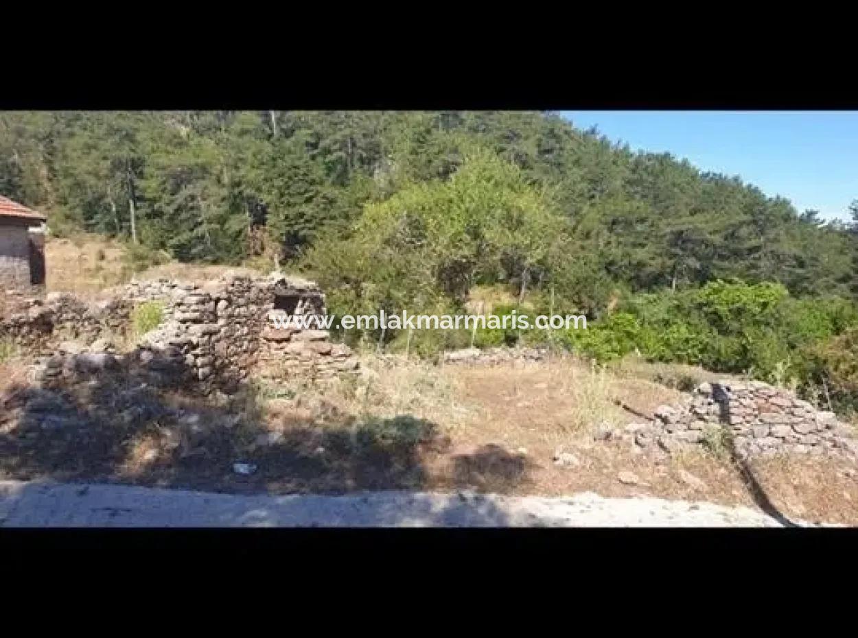 Bayır Köyünde 131 M2 Arsa İçerisinde 2 Adet Ev Olan Arsa Satılık