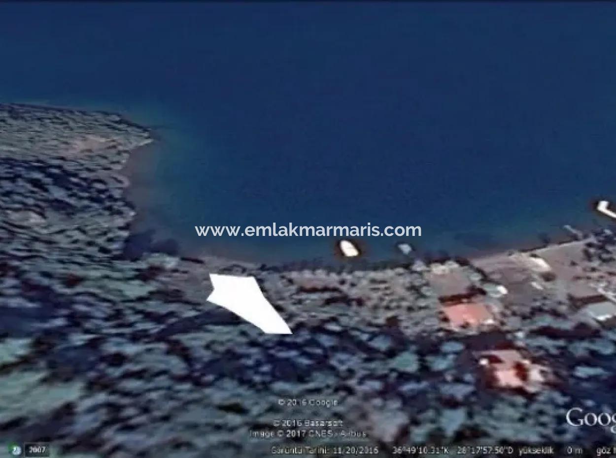 Marmaris,Te Denize Sıfır Satılık 740 M2 Arsa