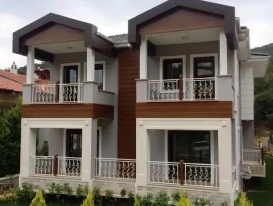 Marmaris Armutalan Mevkii Sıfır Satılık Müstakil Villa Yüzme Havuzlu 5+1 200M2