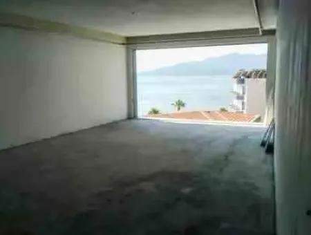 Marmaris Merkezinde Satılık 300M2 Penthouse Muhteşem Deniz Manzaralı